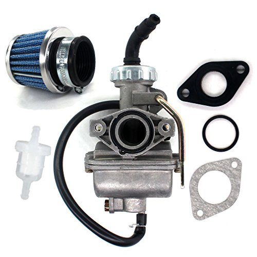 AISEN Carburetor for XL XR 75 80 XL75 XR75 XR75R XR80 XR80R C50 CRF50 CRF80 CRF80F CR80R SS50 XL75 XR50 XR75 XR80 XR80R Z50 Kawasaki KLT110 Kazuma Meerkat Falcon Viper 50cc 90cc 110cc