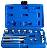 DASBET 17PCS Auto Bearing Race Seal Driver Disc Tool Master Set Wheel Axle Bushing W/Case