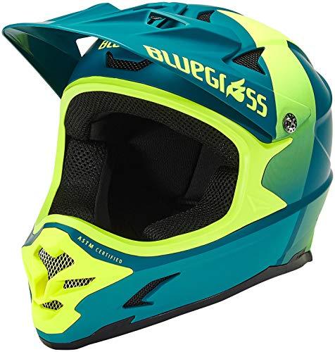 Casco de bicicleta Bluegrass Intox azul petróleo amarillo n