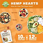 Manitoba Harvest Hemp Hearts Raw Shelled Hemp Seeds, Natural, 1 Pound - Packaging May Vary 4