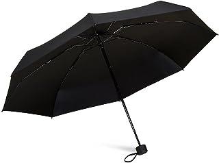 TAIKUU 超軽量 折り畳み日傘 UPF50+ UVカット率100% 日光を反射し木陰の涼しさ 遮光率100% 遮熱効果 折りたたみ日傘 晴雨兼用 8本骨 V8