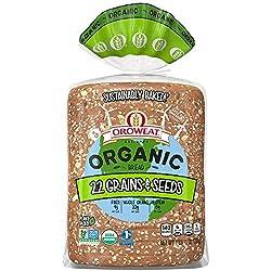 Oroweat Organic 22 Grains & Seeds Bread, Non-GMO Organic Bread, 27 oz