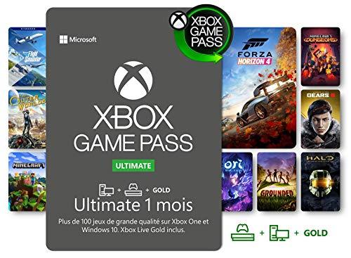 Abonnement Xbox Game Pass Ultimate | 1 Mois | Xbox/Win 10 PC - Code jeu à télécharger