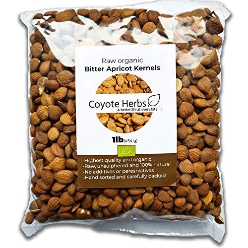 0,454 kg./semi di albicocca amari/Nocciolo di albicocca amaro e crudo/Vitamina b17/mandorle amare