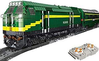 Brigamo Locomotive diesel télécommandée avec moteur, servo & 2,4 GHz et accessoires de rail.