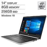 HP 14' Laptop 10th Gen Intel Core i5 - 1080p, RAM 8 GB, 256 GB SSD, Model: 8AA76UA#ABA