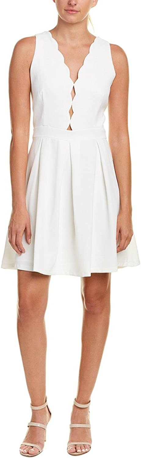 Adelyn Rae Womens Serena Fit and Flare Dress