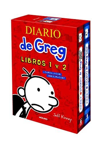 Diario de Greg. Libros 1 y 2 (edición estuche con: Un pringao total | La ley de Rodrick): ¡Carcajadas aseguradas!