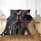 HAIFEI Spiderman Ultimate Metropolis - Funda de edredón para cama individual, doble y king (135 x 200 cm)