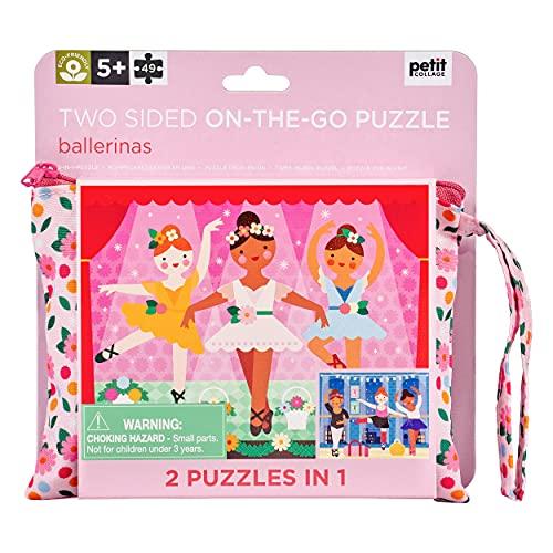 Petit Collage- Puzzle 2 en 1 (PTC525)