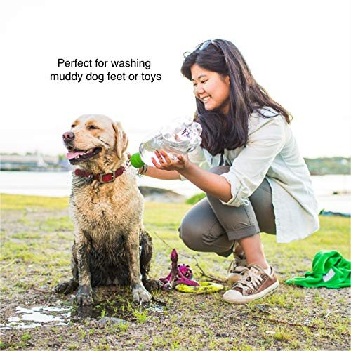 Kurgo Portable Outdoor Shower for Dogs, Dog Grooming Tool, Pet Bathing...