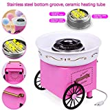 qingbizhin Nostalgia Mini Cotton Candy Machine For Kids, Cotton Candy Floss Maker, Electric