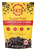 KETO FRIENDLY, LOW NET CARBS AND SUGAR FREE: Contains 1g Net Carbs with 2g of dietary fiber per serving and 100% natural plant-based sweeteners in Erythritol and Stevia, making it perfect for keto, carb conscious and diabetic friendly diets. EASY TO ...