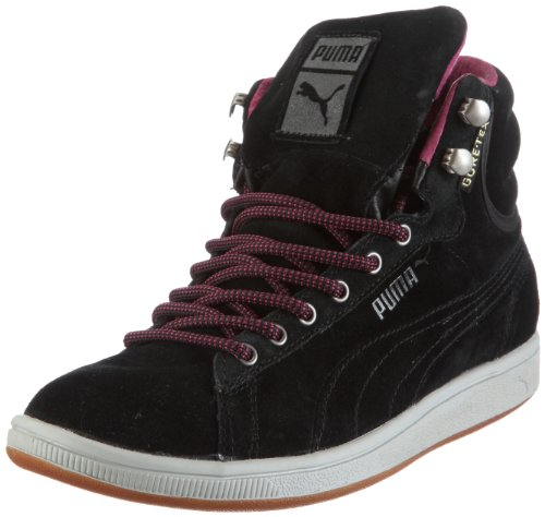 Puma First Round Super GTX® WT 352390, Damen, Sneaker, Schwarz (Black-Magenta Haze 01), EU 36 (UK 3.5) (US 6)