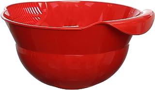 Eco Plast Rice Colander - Red