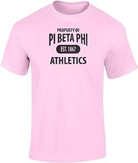 Fashion Greek PI Beta Phi Athletic Department T Shirt