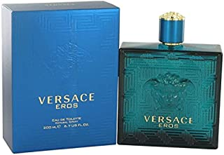 Versace Eros by Versace Eau De Toilette Spray 6.7 oz for Men - 100% Authentic