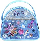 DISNEY FROZEN Snow Magic Beauty Bag Kit Maquillage pour Enfant 1 Rouge à Lèvres 8 Gloss 2 Vernis Accessoires