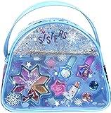 Markwins Frozen Snow Magic Beauty Tasche enthält Kinderschminke, Ringe und Haarclips im Anna &...
