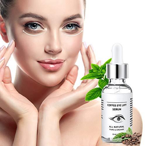 51Gz2LZcfSL - Under Eye Serum - Eye Serum for Dark Circle, Eye Puffiness, Eye Bag Treatment, Anti Aging/Wrinkle Eye Moisturizer with Hyaluronic Acid, Glycerin & Caffeine Eyes Serum for Men or Women
