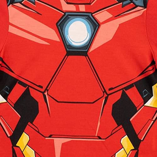 Marvel Pijamas para Niños Paquete de 2 Avengers Multicolor 3-4 Años