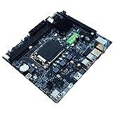 Dailyinshop Carte mère P8P67 Le Desktop Prise P67 LGA 1155 i3 i5 i7 DDR3 32G SATA3 USB3.0 ATX Hautes Performances (Couleur: Noir)