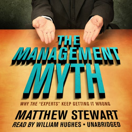 The Management Myth audiobook cover art