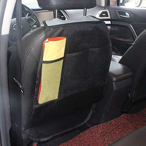 1 Stücke Autositzbezug Rückenprotektor Anti Kind Kick Pad Matte Schmutzige Abdeckung Schützt Mit 2 Taschen Organizer Aufbewahrungstasche