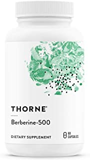 Thorne Research - Berberine-500 - Botanical Compound to Support Blood Sugar Metabolism - 60 Capsules
