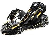 BBR Models BBR 182282 - Ferrari Fxx-K Evo Nero #44 - échelle 1/18 - modèle de Collection
