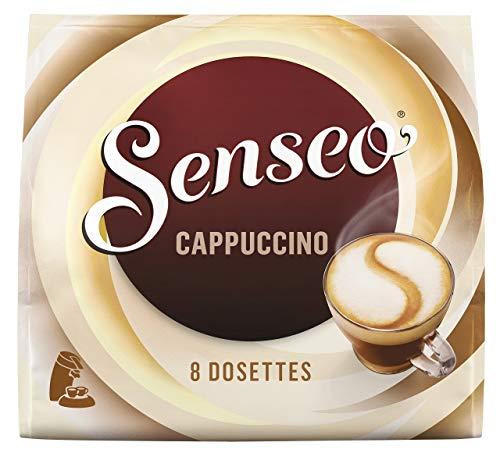 Senseo Café 80 Dosettes Cappuccino (lot de 10 x 8)