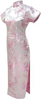 فستان سهرة صيني طويل زهري زهري زهري زهري من 7Fairy Women's Cheongsam