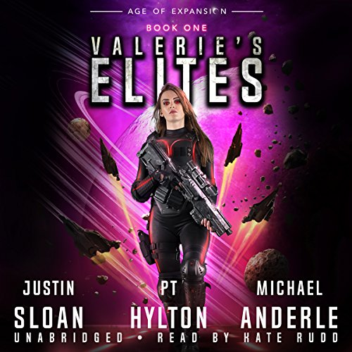 Valerie's Elites: Age of Expansion     A Kurtherian Gambit Series              Autor:                                                                                                                                 Justin Sloan,                                                                                        P.T. Hylton,                                                                                        Michael Anderle                               Sprecher:                                                                                                                                 Kate Rudd                      Spieldauer: 6 Std. und 33 Min.     Noch nicht bewertet     Gesamt 0,0