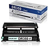 1 Pack DR350 DR-350 Black Drum Unit Compatible Replacement for Brother IntelliFax 2820 2910 2920 2850 HL-2040 2040N 2070N 2030 2040R Printer