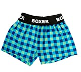 "Flannel Boxer Shorts Teddy Bear Clothes Fit 14"" - 18"" Build-a-bear, Vermont Teddy Bears, and Make Your Own Stuffed Animals"