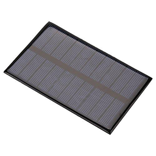 Cafopgrill Draagbaar 1,2 watt 5 V Mini zonnepaneel DIY module voor batterij, mobiele telefoon speelgoed lader mobiele telefoon oplader mobiele telefoon oplader mobiele telefoon huis