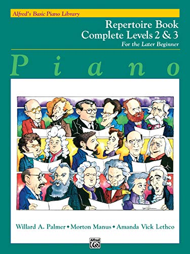 Alfred's Basic Piano Library : Repertoire Book Complete Levels 2&3