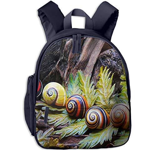 Kinderrucksack Farbe Schneckenhäuser, Schulrucksack Für Mädchen Und Jungen Schultasche Schulranzen Teenager Backpack Daypack Freizeitrucksack Kinder Rucksack