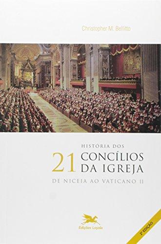 História dos 21 Concílios da Igreja: De Niceia ao Vaticano II