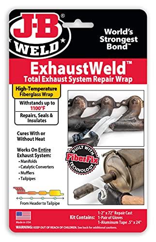J-B Weld ExhaustWeld 2' x 72' Repair Wrap