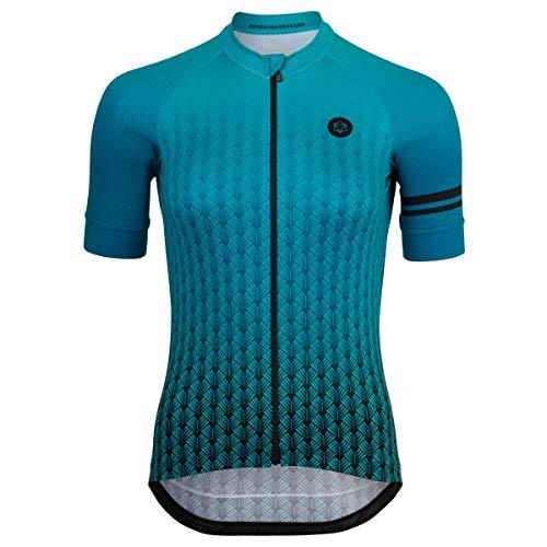 AGU Art Deco Fietsshirt Trend Dames - Groen
