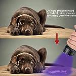 2 Pack UV Flashlight Black Light, Escolite 51 LED 395nm Ultraviolet Blacklight Detector for Dry Pet Urine and Bed Bug 14