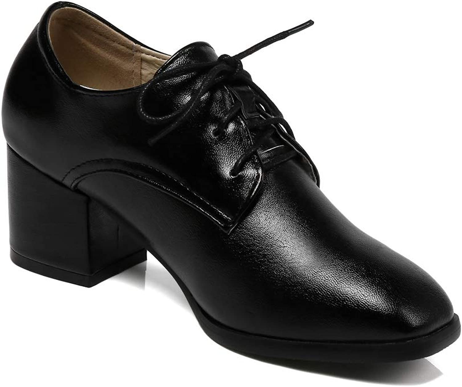 AdeeSu Womens Pumps-shoes Solid Fabric Leather Pumps shoes SDC06358
