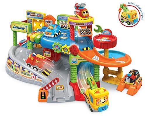 Vtech Multiwerkstatt Garage TutTut Bollywood, Playset Taller Mechanisch mit verschiedenen Titel und Ebenen mit Lichtern, Stimmen, Liedern und lustigen Klängen inkl. Kapitalfahrzeug