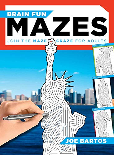 Brain Fun Mazes: Join the Maze Craze for Adults!