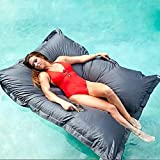 rostsp Bean Bag Schwimmender Sitzsack Im Pool Innen/Außen wasserdichte Lounge/Stuhl/Sofa (Ohne Füllstoff)-8