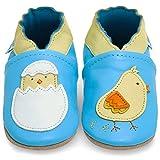 Zapatos Bebe Niña - Zapatillas Niña - Patucos Primeros Pasos - Pollito - 6-12 Meses