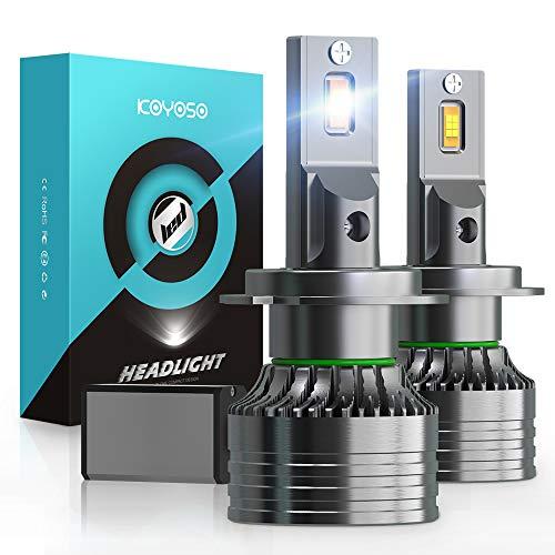Ampoule H7 LED 16800LM Voiture, KOYOSO 100W Phares 6000K Blanc