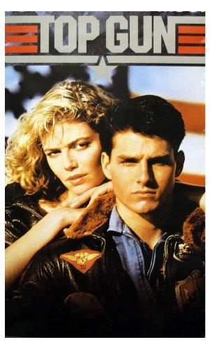 Top Gun Movie Tom Cruise and Kelly McGillis 80s Poster Print - 11x17