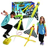 Product Image of the The Original Stomp Rocket Stunt Planes Launcher - 3 Foam Planes and Toy Air...